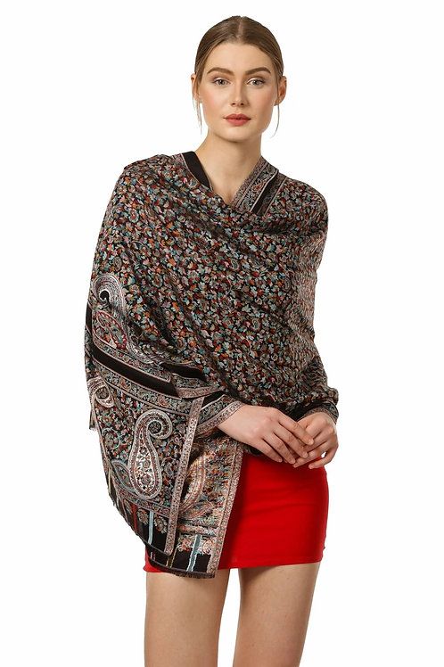 WOMEN'S KAANI DESIGN, SOFT BAMBOO SCARF, CASUAL STOLES