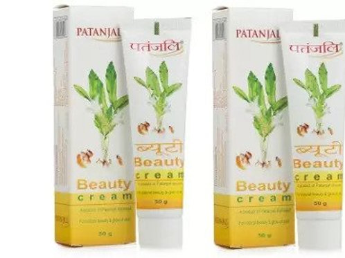 Patanjali Ayurveda Beauty Cream Pack of 2, 50gms each