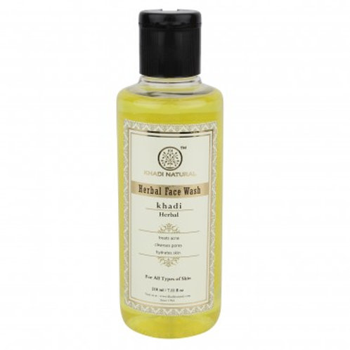 Khadi Natural™ Herbal Face Wash It gives you a clear clean skin.
