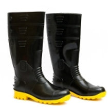 Hillson welcome Black to Yellow Style Safety Shoes