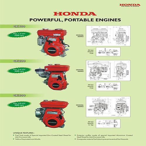 Honda Engine Petrol Start/Kerosene Run GK-100/GK-200/GK-300