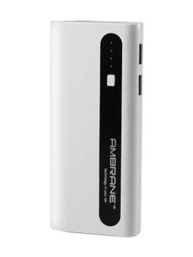Ambrane 13000mAh PowerBank - White and Black
