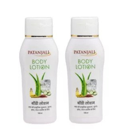 Patanjali Ayurveda Body Lotion Pack of 2, 100ml each