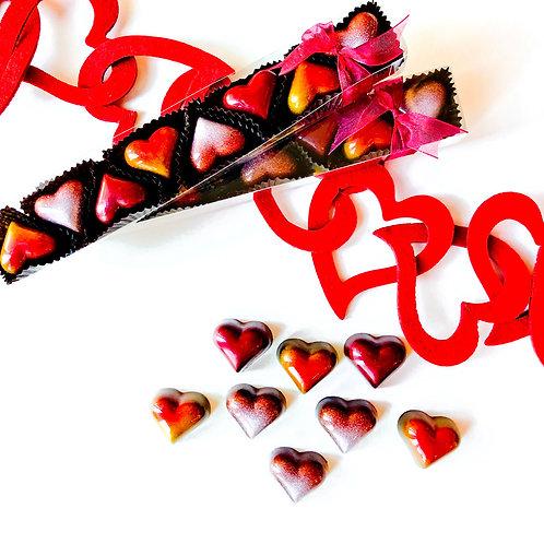 Valentine's Heart Truffles