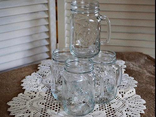 Glass mugs 16oz