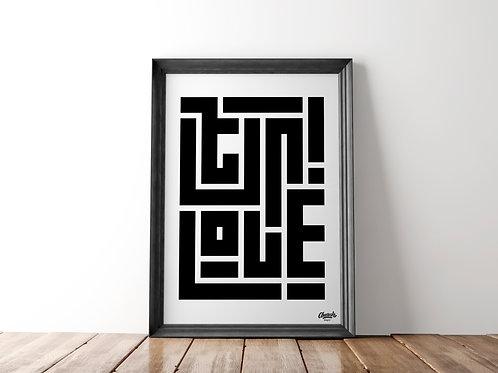 Ser/Love - Art Print (18x24)