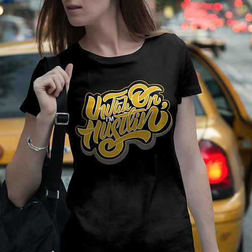 Amen Or (Every Day) I'm Hustlin' - T-Shirt