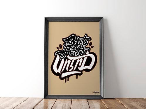 But First Soorj (Coffee) - Art Print (18x24)