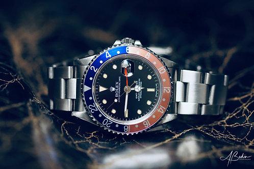 Rolex GMT Master Pepsi 16700