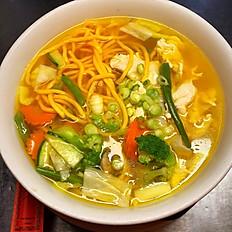 Lo Mein Noodle Soup