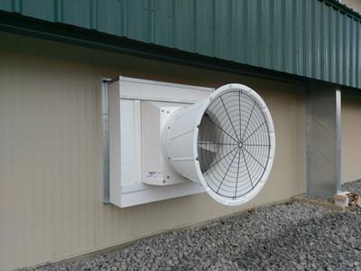 Light Trap Fan Housing