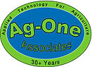 Ag-One Logo2 4color Pantone 300U & 375U