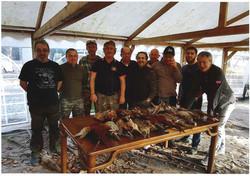 Notre équipe de chasseurs