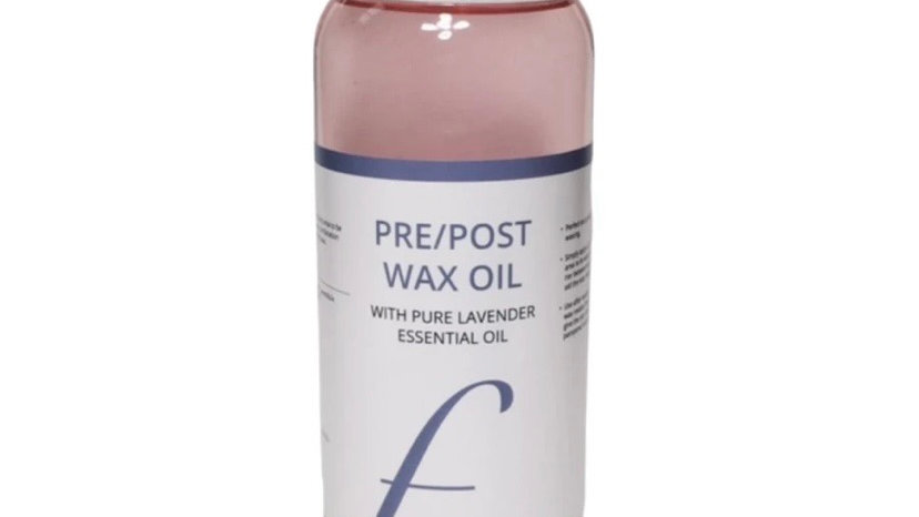 Pre/post wax