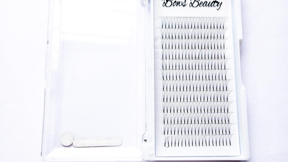 Pre bonded 3D volume lashes