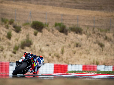 Maria Herrera suffers from technical issue in Race 2 in Navarra