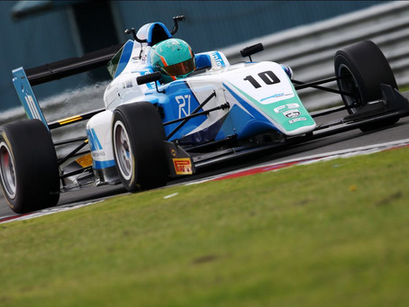 British F3: Bittersweet weekend for Reema Juffali at Donington Park