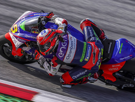 Moto E: Difficult race for Maria Herrera at Red Bull Ring