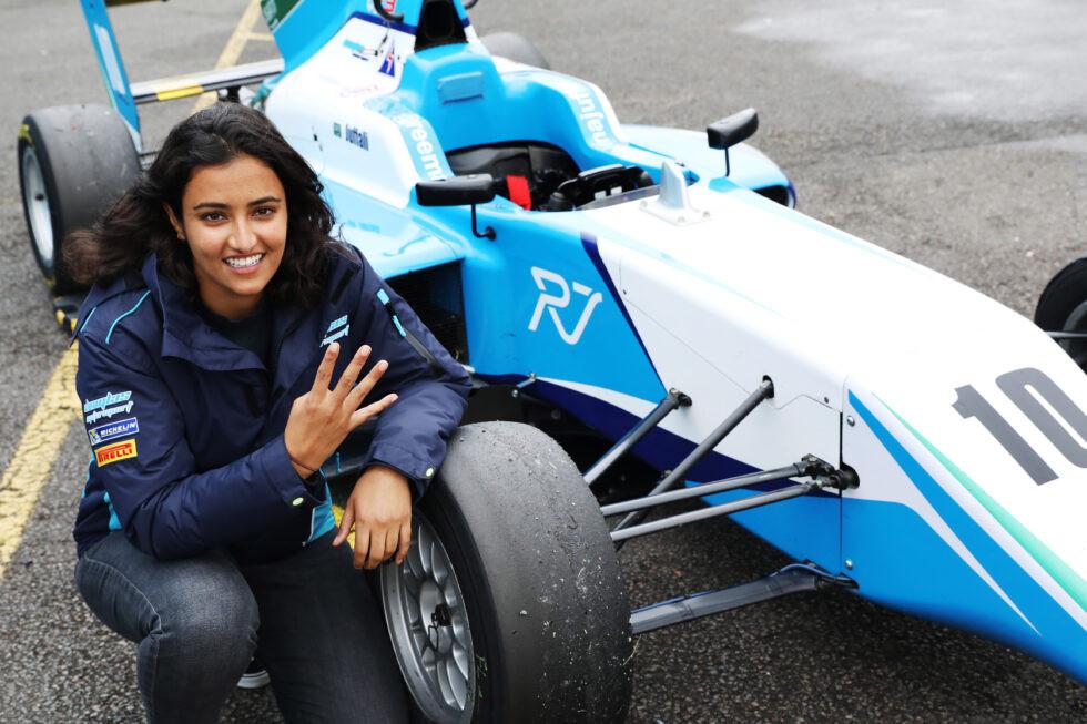 ريما الجفالي تقول أفضل نتيجة لها حتى الآن في بطولة F3 البريطانية