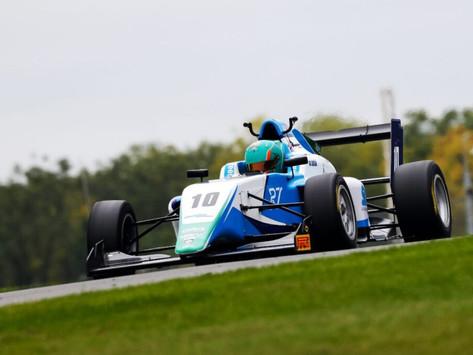 Reema Juffali finishes rookie GB3 season battling around the Top-10 in Race 3