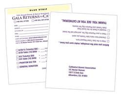 Remit Envelopes printed 1 color 2 sides