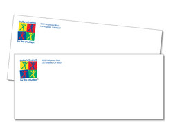 Envelopes #10 printed full color on 24lb writing stock