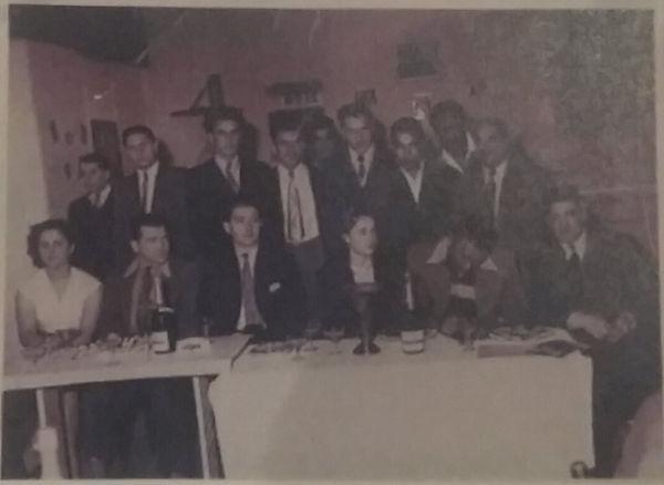 """Création du club """"Ring du XIV"""" le 12/07/1951"""