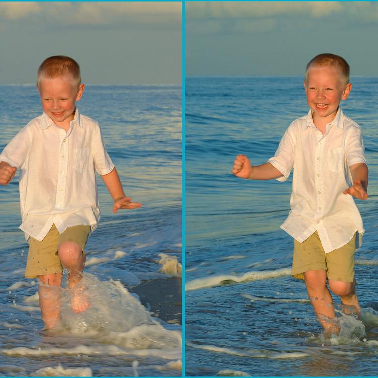 Children Action Candid Beach Portraits G