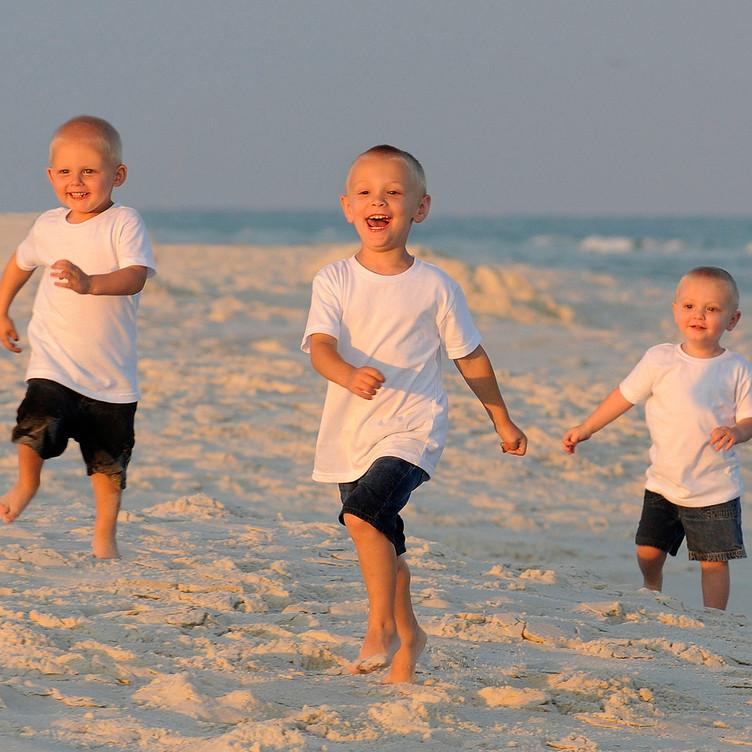 Children Candid Beach Portraits Gulf Sho