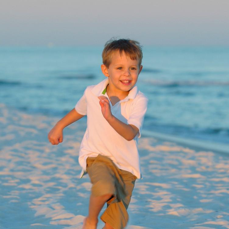 Children Action Beach Portraits Perdido