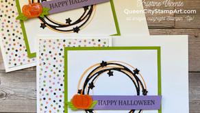 Clean + Simple Card: Sparkle of the Season - Halloween