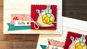 Clean + Simple Card: Snail Mail
