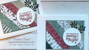 Clean + Simple Card: Christmas in July!
