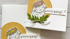 Clean + Simple Card:  Springtime Joy