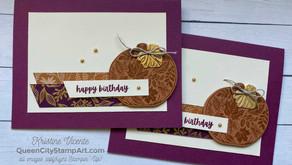 Clean + Simple Card: Pretty Pumpkins bundle