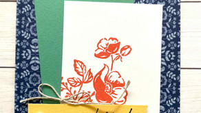 Clean + Simple Card: Shaded Summer