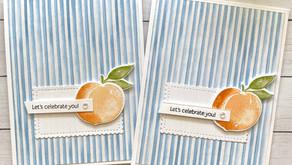 Clean + Simple Card:  Sweet as a Peach