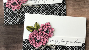 Clean + Simple Card: Stampin' Up! Sale-A-Bration 2021