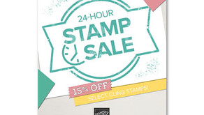 Stampin' Up! FLASH SALE - 24 hours only!