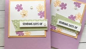 Clean + Simple Card: Pretty Perennials + *NEW* In-Colors