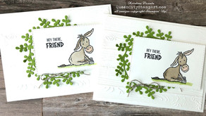 Clean + Simple Card: Darling Donkeys - Sale-A-Bration 2021