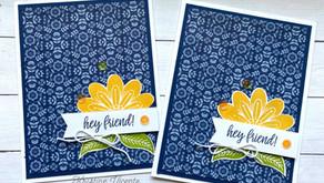 Clean + Simple Card:  In Symmetry