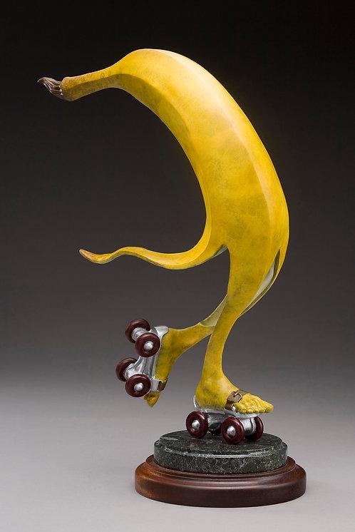 Bronze Banana on Skates