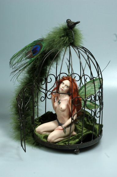 Caged Fairy