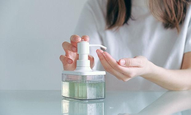 Higienização de mãos