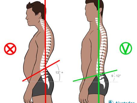 Glúteos fracos e dor nas costas