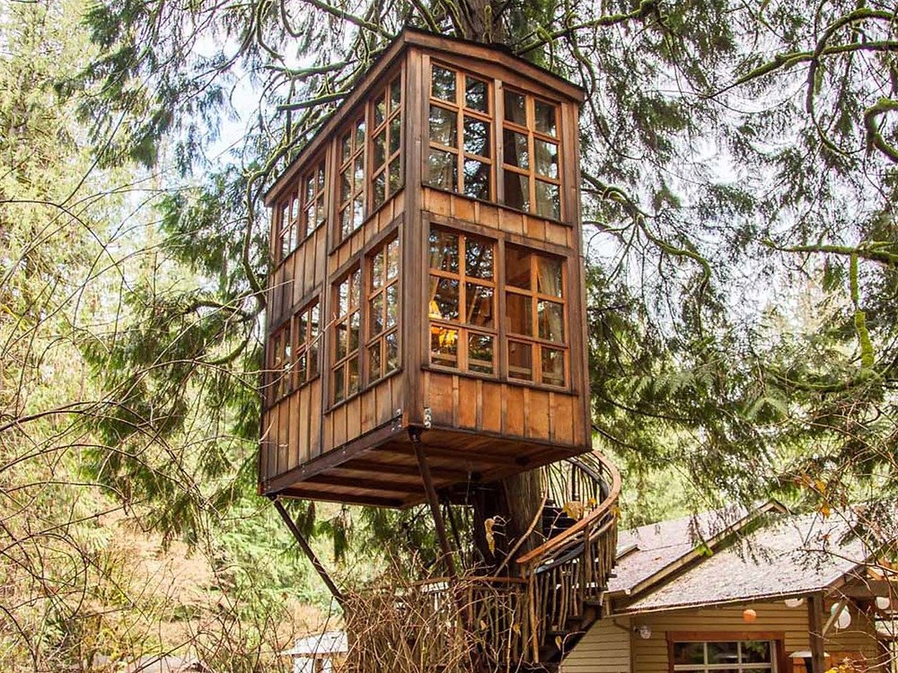 Treehouse Point, Washington: 20 Pacific Northwest Treehouses to Rent Now