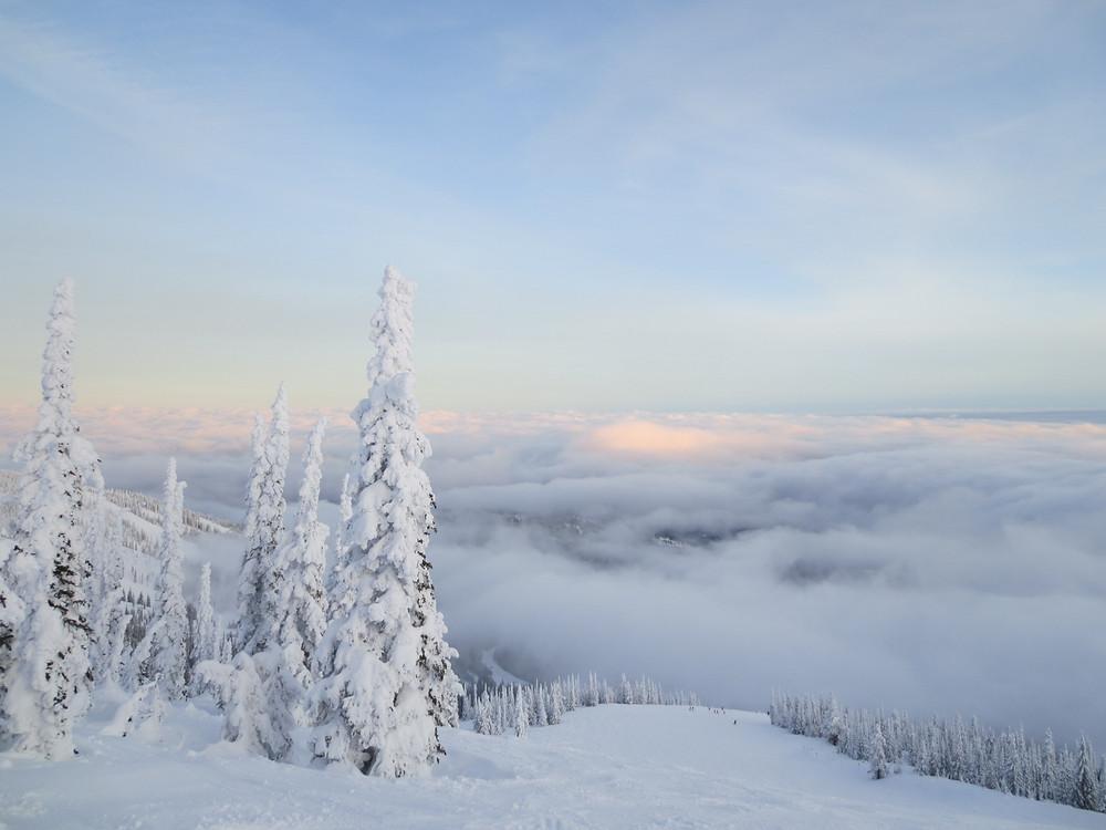 Schweitzer Mountain Ski Area in Idaho