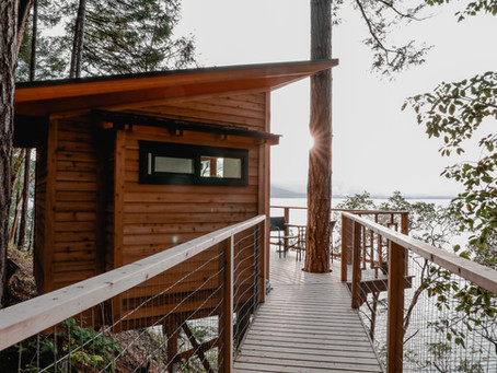 A Salt Spring Island Treehouse Escape