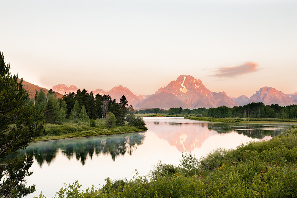 Grand Teton National Park, Tetons, Jackson Hole, Wyoming, Oxbow's Bend